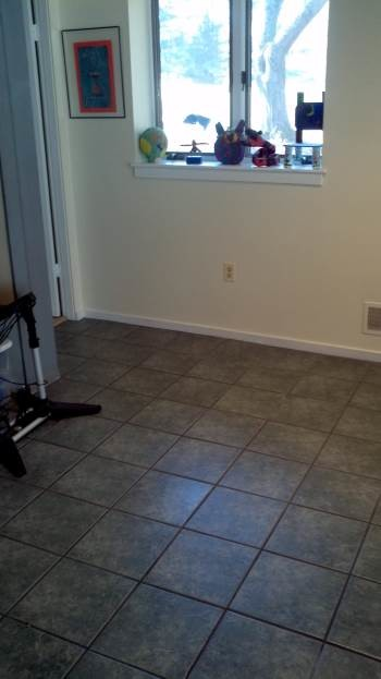 Before Reflooring in Ellicott City, MD
